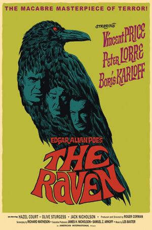 Poe, Vincent Price, A holló, Roger Corman, Boris Karloff, Peter Lorre